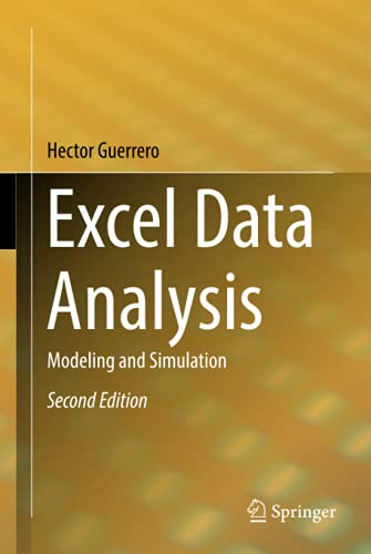 Excel Data Analysis Modeling and Simulation, 2nd Edition