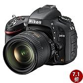 Nikon 尼康 D610 单反套机 (AF-S NIKKOR 24-85mm f/3.5-4.5G ED VR) 黑色